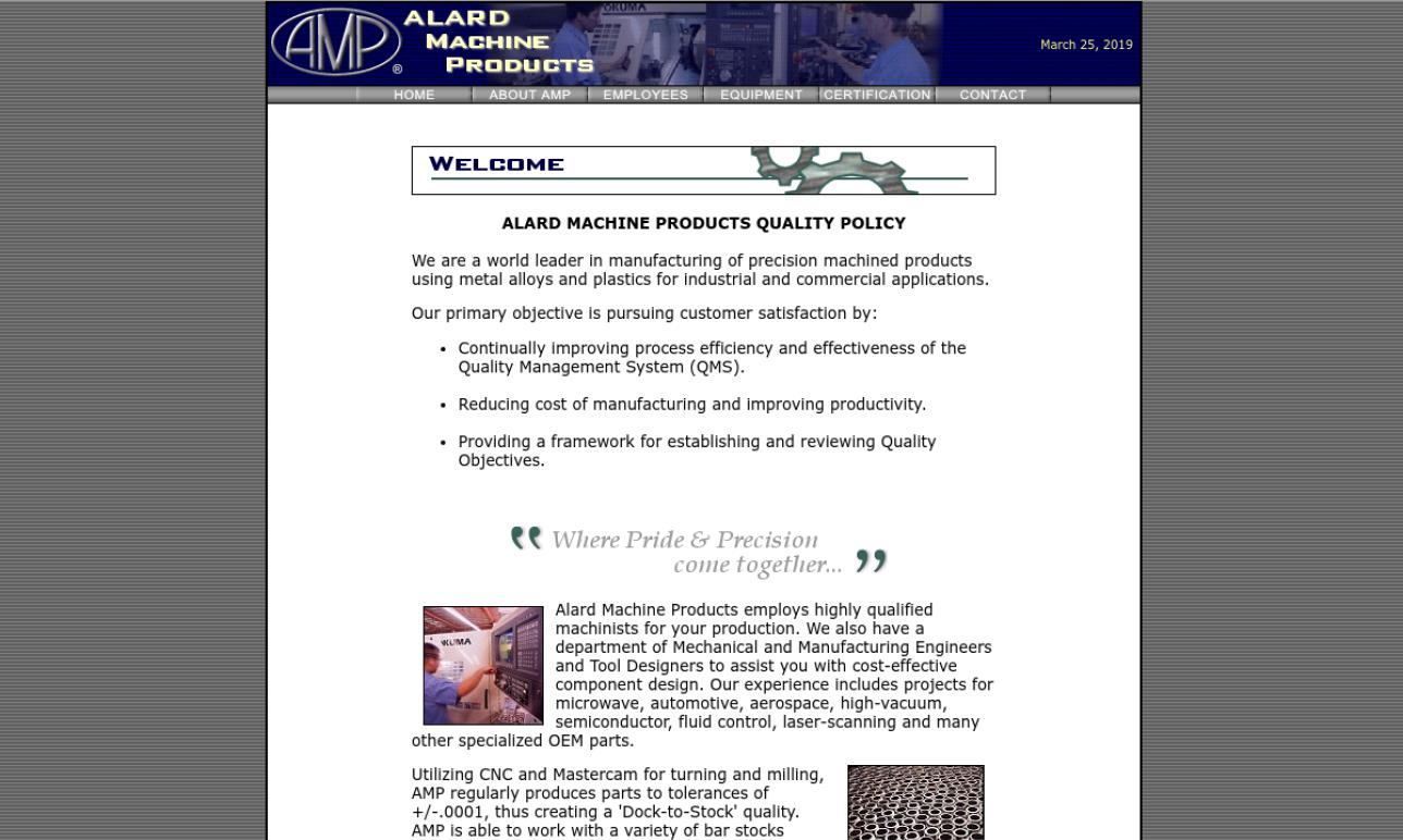 ALARD Machine Products