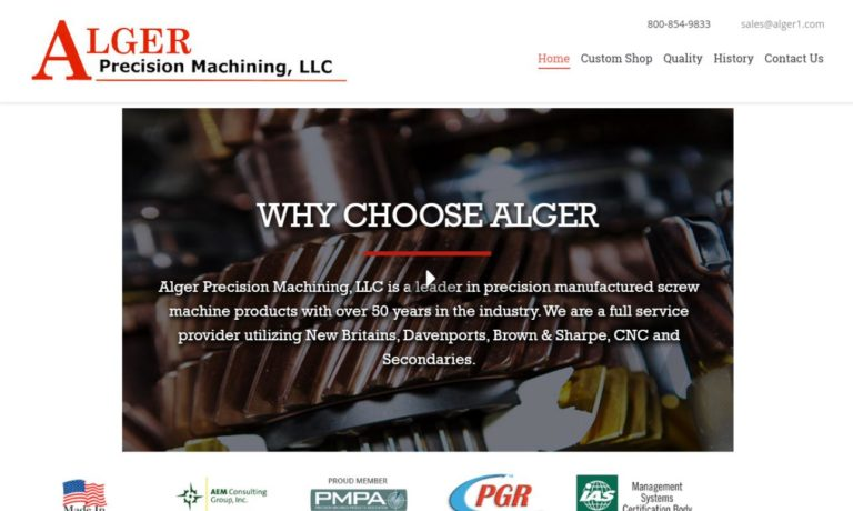 Alger Precision Machining, LLC
