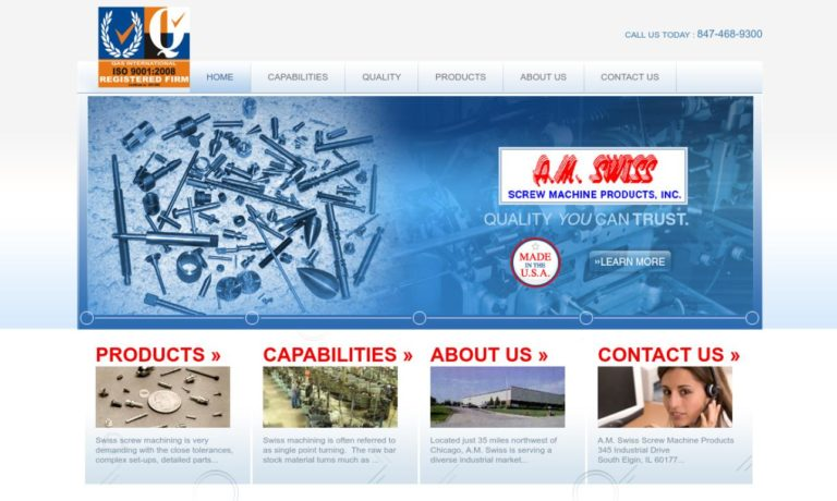 A.M. Swiss Screw Machine Products, Inc.