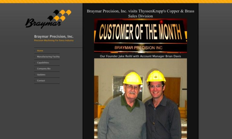 Braymar Precision, Inc.
