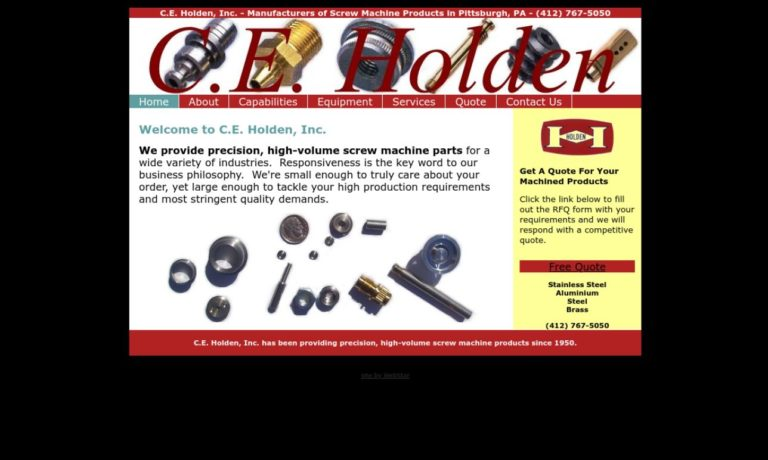 C.E. Holden, Inc.