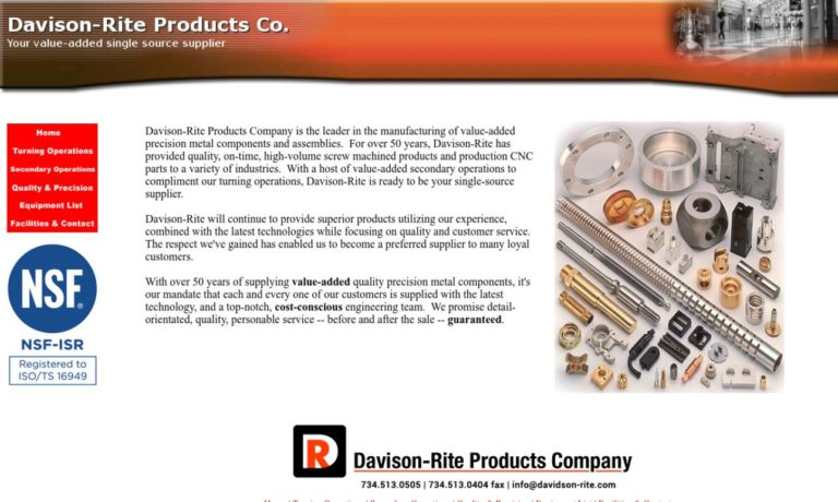 Davison-Rite Products Company