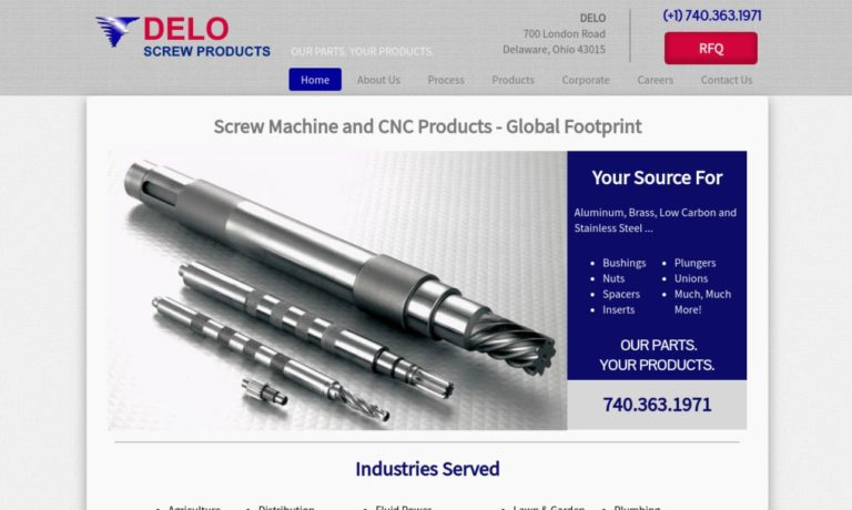 Delo Screw Products