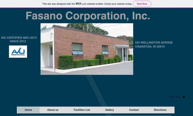 Fasano Corporation, Inc.
