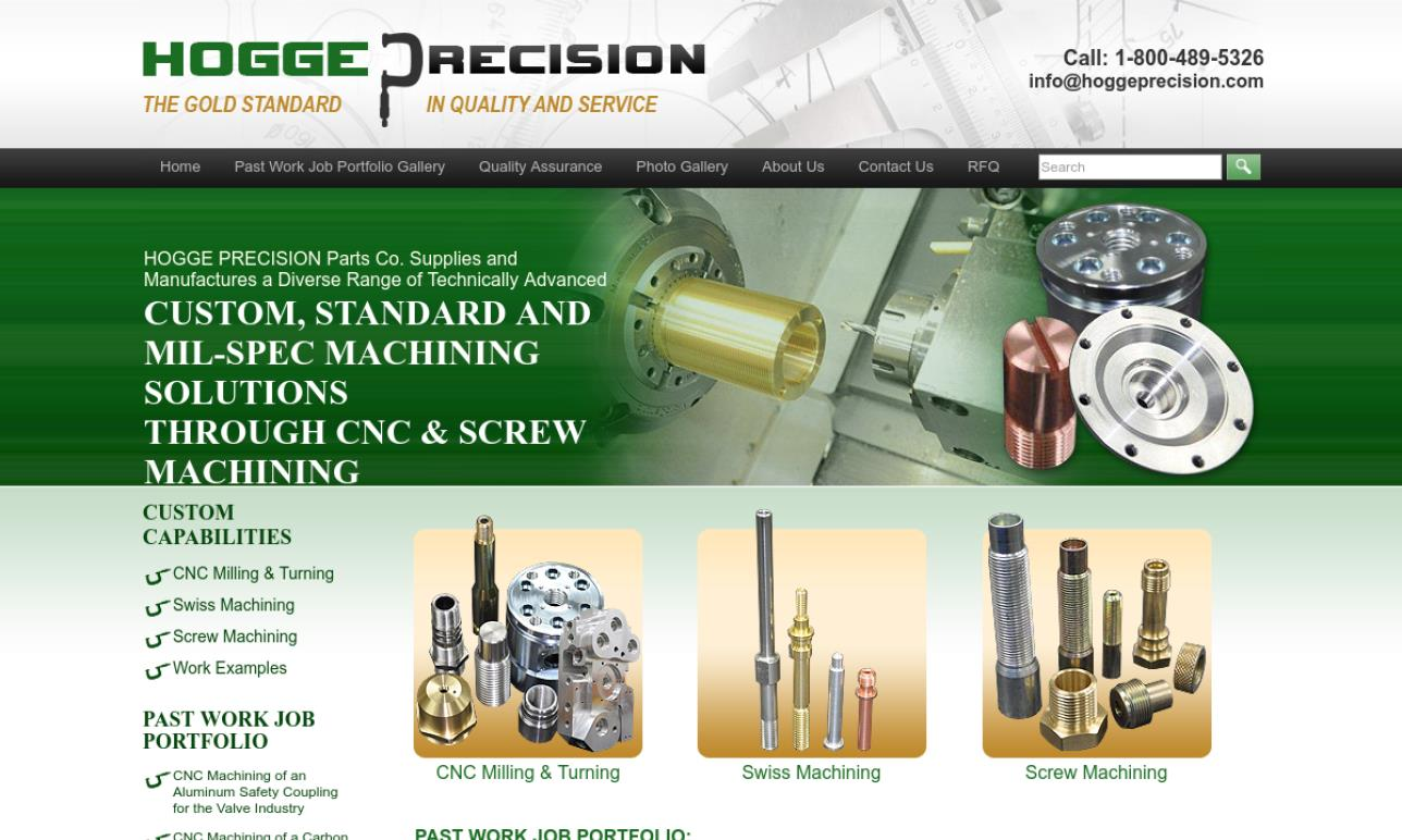 Hogge Precision Parts Co., Inc.