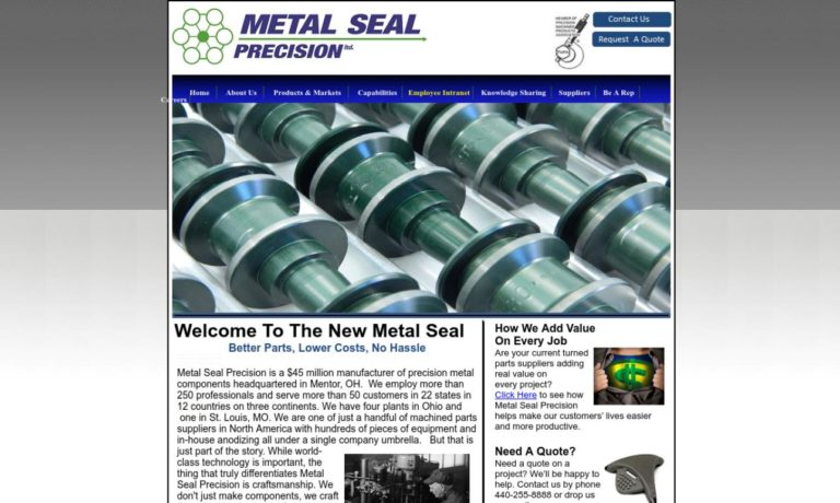 Metal Seal Precision Ltd.