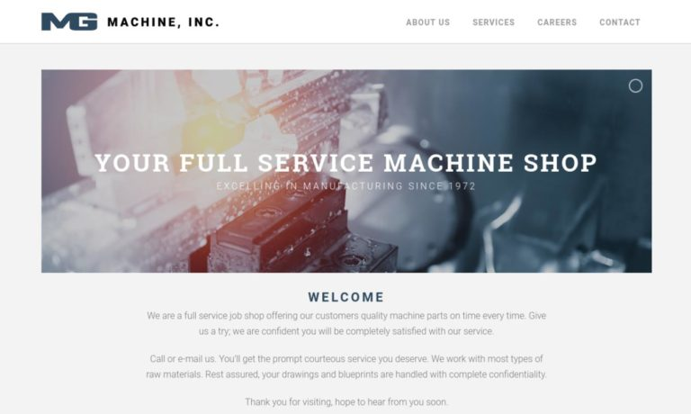 MG Machine, Inc.