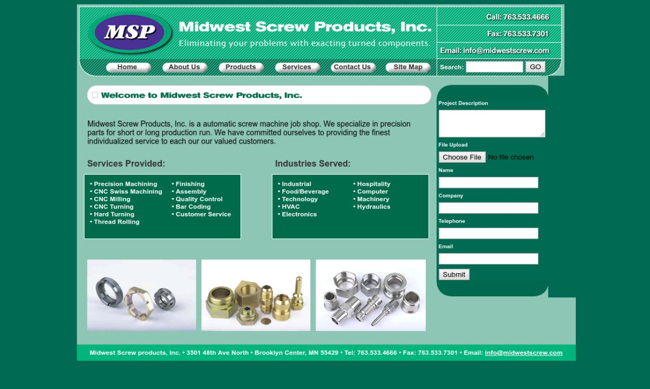 Midwest Screw Products, Inc.