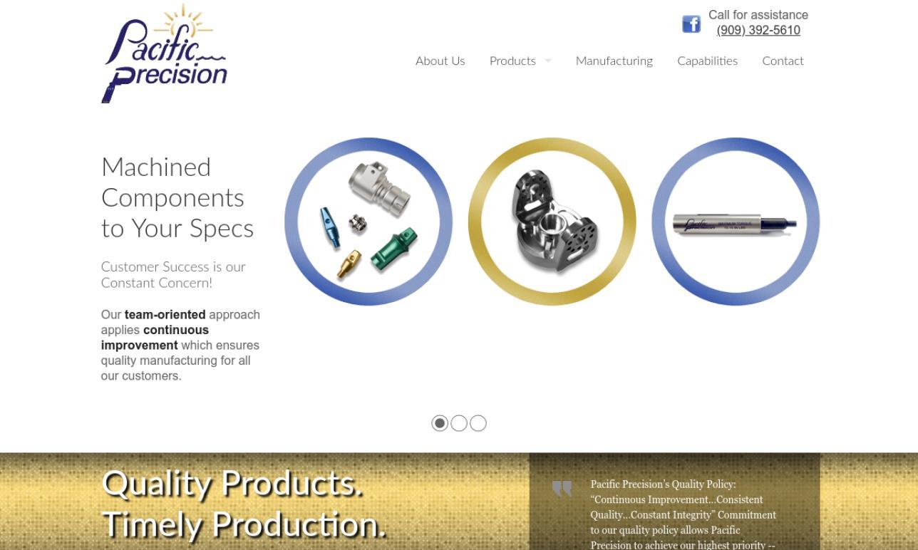 Pacific Precision Inc.
