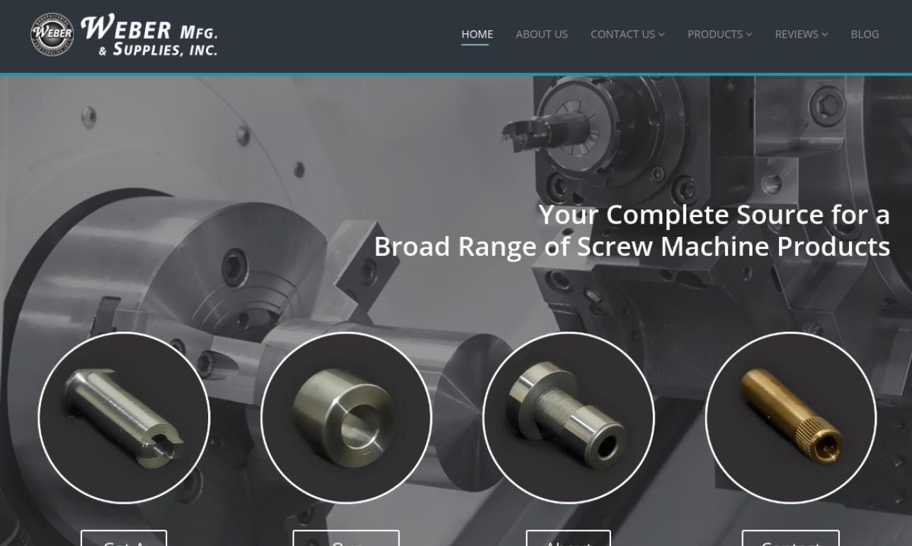 Weber Manufacturing and Supplies, Inc.