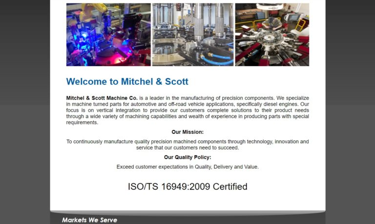 Mitchel & Scott Machine Co., Inc.