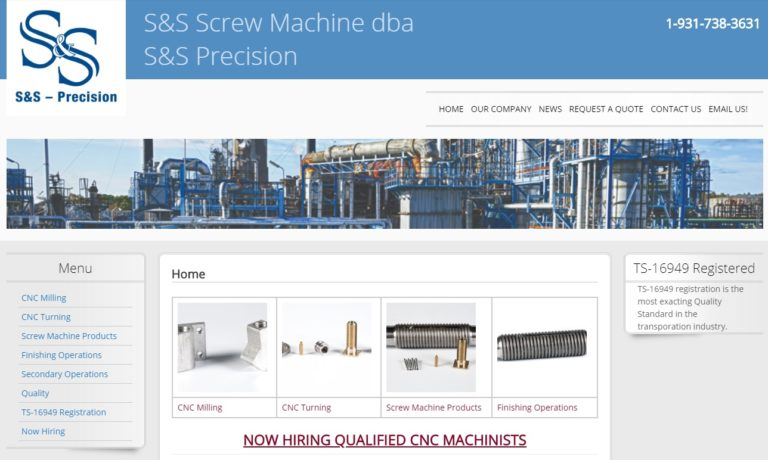 S & S Screw Machine Co., LLC