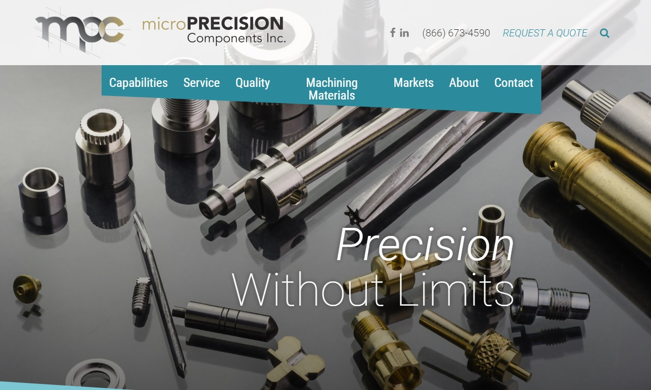 Micro Precision Components Inc.
