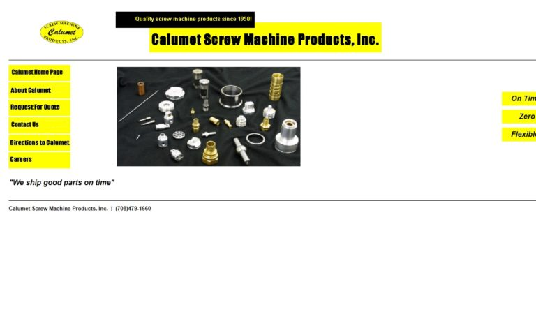 Calumet Screw Machine Products, Inc.