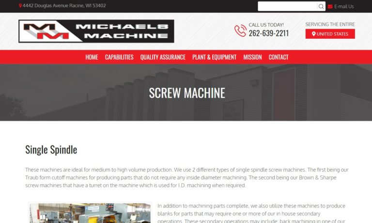 Michaels Machine Company, Inc.